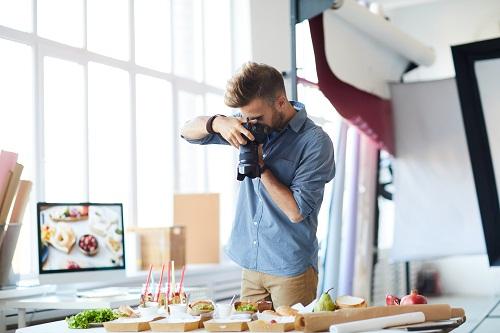 un photographe culinaire Lyon